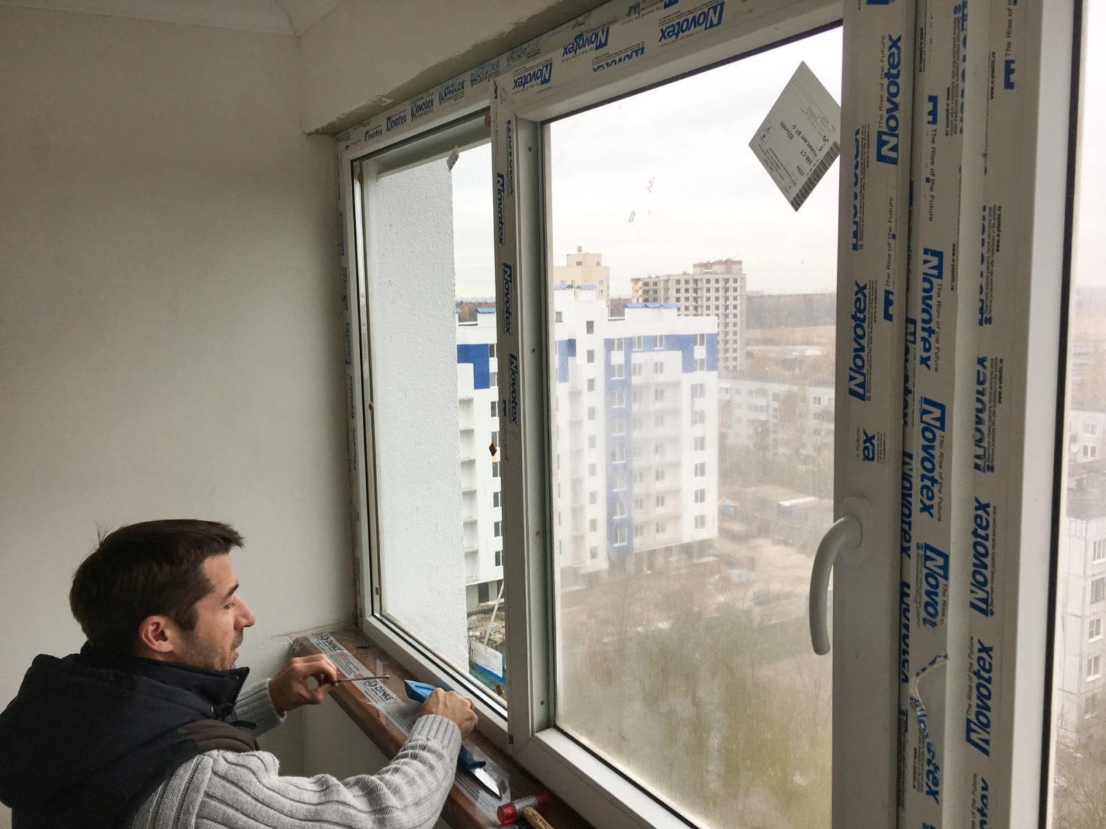 Установка однокамерных энергосберегающих стеклопакетов в Мурино