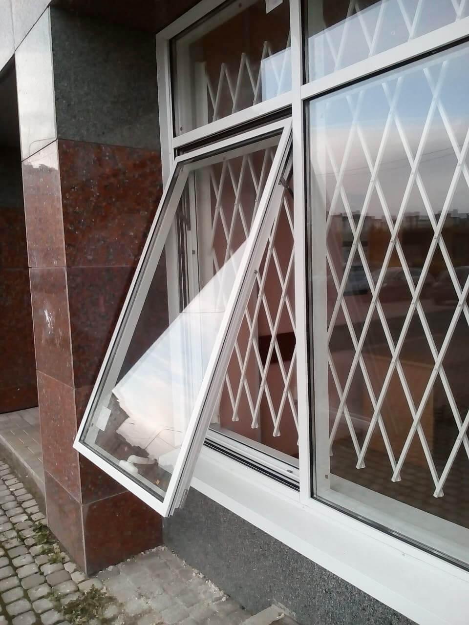 Ремонт фрамуг алюминиевых окон